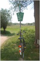 wandelroutes en fietsroutes nabij b&b regio Rotterdam