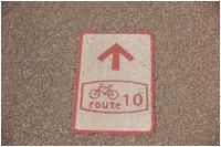 bewegwijzering fietsroutes