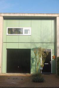 entree studio appartement Rotterdam